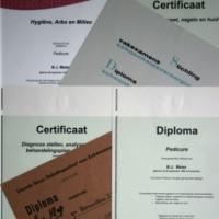 Salon 66 - Informatie - Diploma